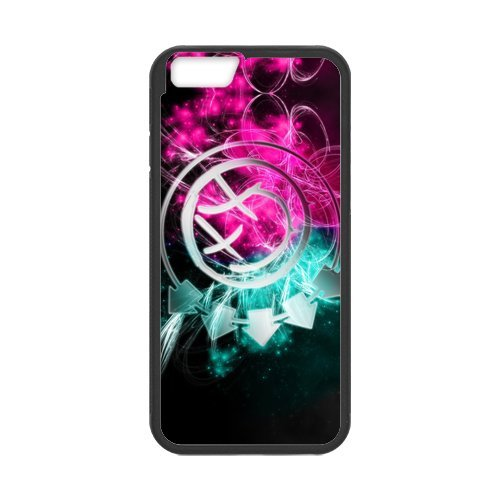 """Fayruz - iPhone 6 Rubber Cases, Blink 182 Hard Phone Cover for iPhone 6 4.7"""" F-i5G353"""