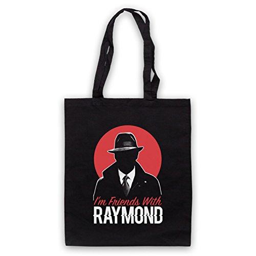 With Friends Raymond Black Blacklist Bag I'm Tote wE5PxxFBqO