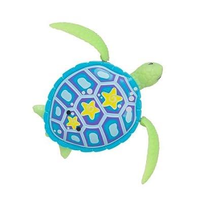 ROBO ALIVE Cute Seas Tiny Turtle Blue Green SHELBY Swim Twirl Glide: Toys & Games