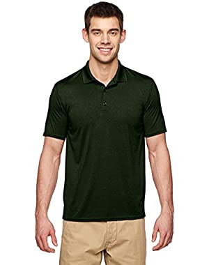 Men's Antimicrobial Performance Jersey Polo Shirt