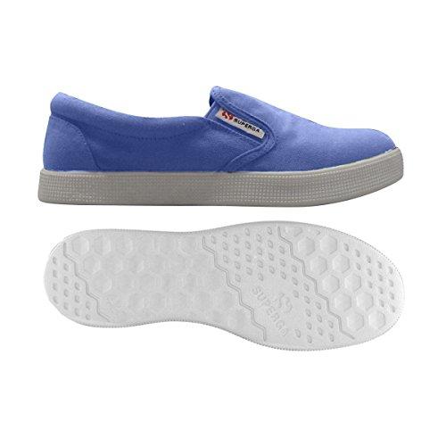 Superga 4498 COTU - Zapatillas Mujer Blue Iris