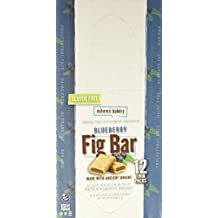 Nature's Bakery Gluten Free Fig Bars - Blueberry - 12-2 oz Twin Pack/Net Wt 24 OZ