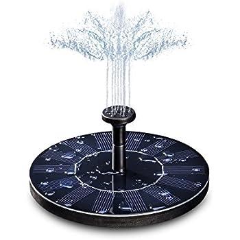 Amazon Com Ankway Solar Bird Bath Fountain Pump 1 4w