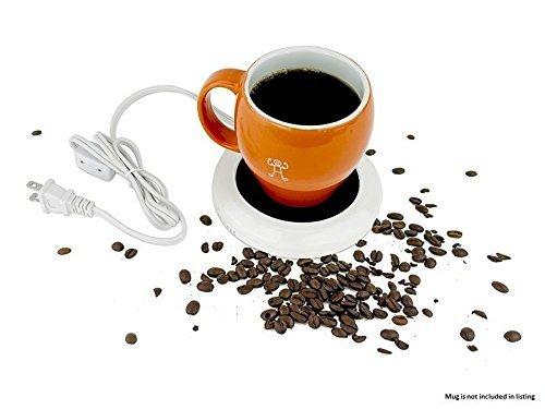 Portable Desktop Coffee Warmer - Tea, Cup, Mug, Candle, Wax Warmer Heater Pad