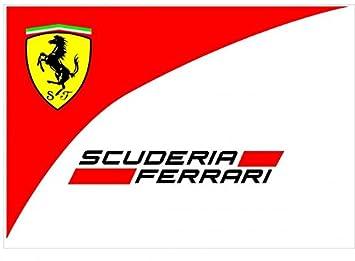 Aufkleber Wählbar Adhesivo Sticker Logo Scuderia Ferrari 10