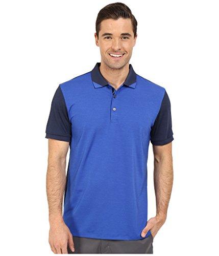 (PUMA Golf Men's Short Sleeve Tailored Rib Polo, Surf The Web, Large)