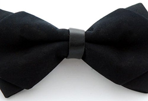 Pre Polyester Designs Bow Wedding Various Tie Westeng Bow Style Party 1pc Black New Ties Men's Tied wYgR0xq
