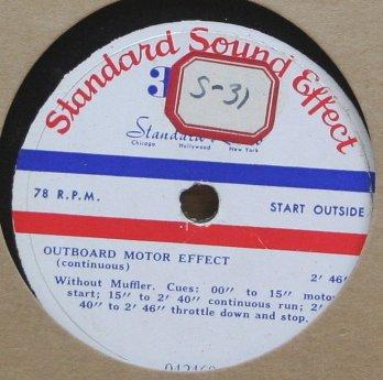 Outboard Motor Effect