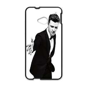 HTC One M7 Cell Phone Case Black Stylish Justin Timberlake SLI_677060