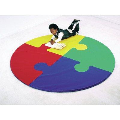 CHILDREN'S FACTORY Round Puzzle Activity Mat