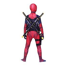 - 41UzDezrhTL - AOVEI Kids 3D Zentaisuit Full Cosplay Costume Halloween Bodysuit Onesie Spandex Jumpsuits