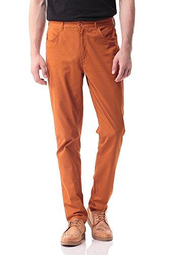 bright orange pants - 1