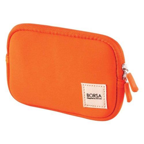 ELECOM Gadget Pouch Multi Pourch Case Soft Type Size S Orange BMA-GP04DR by Elecom
