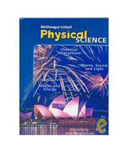 McDougal Littell Science Georgia: Test Prep Workbook Grade 8 Physical Science
