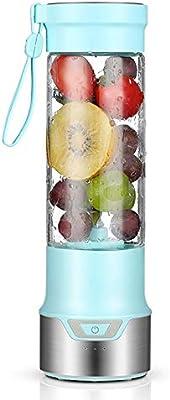 YYWDP Mini Batidora Electrica, Licuadora para Fruta Recargable ...