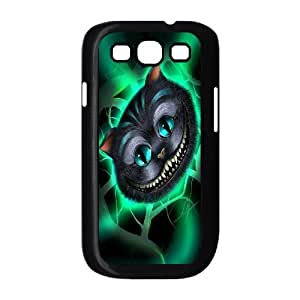 Cheshire cat pattern Hard Snap Phone Case Cover For For Samsung Galaxy S3 Case FKGZ510487
