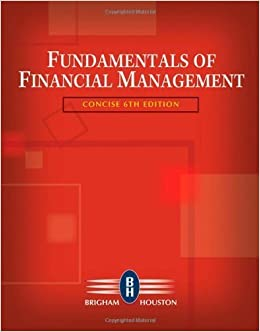 Study guide for brigham/houston s fundamentals of financial.