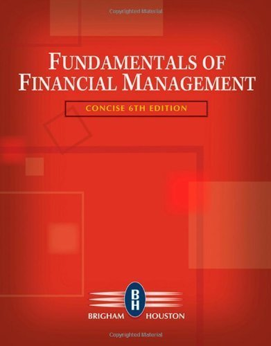 9780324664553: fundamentals of financial management (concise.