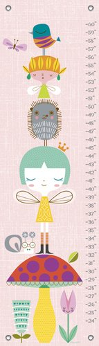 Oopsy Daisy A Very Fairy Topiary by Suzy Ultman Growth Charts, 12 by ()