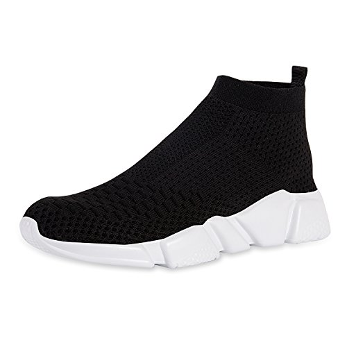 YALOX Men's Walking Shoes Lightweight Slip On Sneakers Fashion Casual Breathable Athletic Running Shoes(42EU,Black-2) by YALOX (Image #8)
