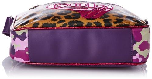 GOLA CUB862 MINI REDFORD SAFARI TRACOLLA Mujer Leopard/Fucsia/Camo