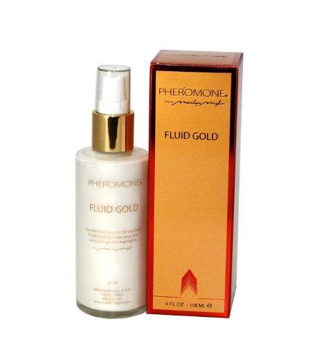 Pheromone By Marilyn Miglin For Women. Fluid Gold 4.0 Oz / 118 Ml.