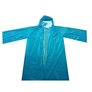 Thrivinger Protective Raincoat for Men Women Hiking Cycling Outdoor Sports Disposable Raincoat Waterproof Protection…