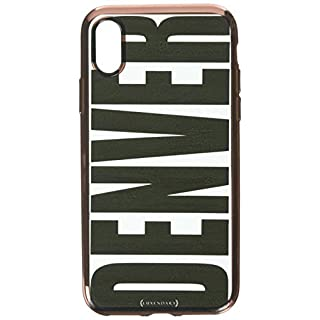 BLACK BOLD DENVER | Luxendary Chrome Series designer case for iPhone X in Rose Gold trim