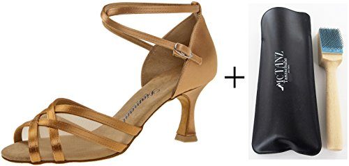 Diamant 035–087–087Femme Chaussures de Danse + Mc de Danse aufrauh Brosse