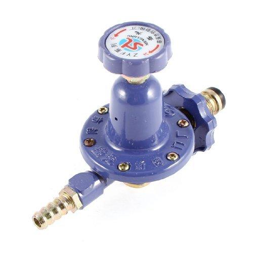 Water & Wood Home 1/2'' PT Male Thread Metal Liquefied LPG Gas Reducer Regulator