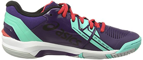 Asics Gel-blast 6 - Zapatillas de balonmano Mujer Morado (Darkberry/Silver/Aqua Mint 3693)