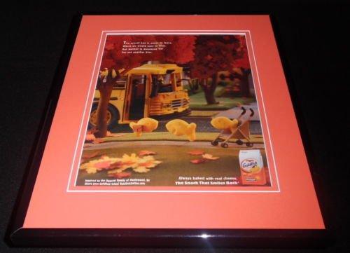 2014-pepperidge-farms-goldfish-11x14-framed-original-vintage-advertisement
