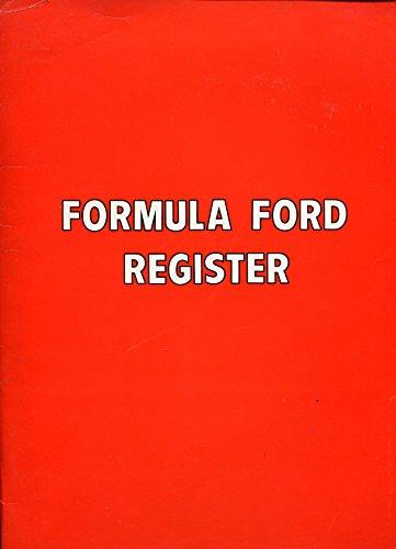 (Formula Ford Register Press Kit 1969-Formula Ford Report-Skip Barber pix-FN)