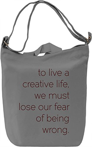 Lose your Fear Borsa Giornaliera Canvas Canvas Day Bag| 100% Premium Cotton Canvas| DTG Printing|