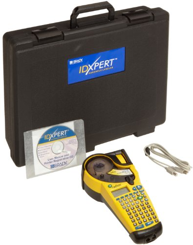 Brady XPERT-CONT LCD IDXPERT Continuous Only Portable Label Printer, 1.25