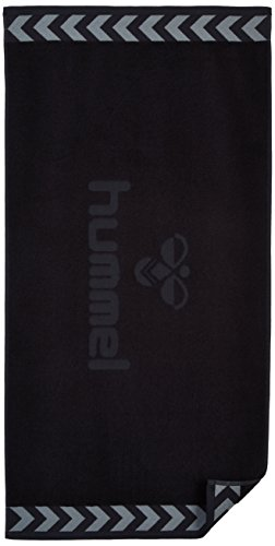 Hummel Handtuch OLD SCHOOL SMALL TOWEL, Black, 100 x 50 cm, 25-064-2001