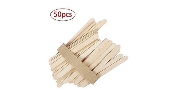 50PCS / SET natural desechable de lengua de madera depilación ...