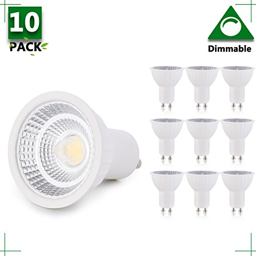 Gu10 Led Light Bulb Energy Saving 3W Warm White in US - 6