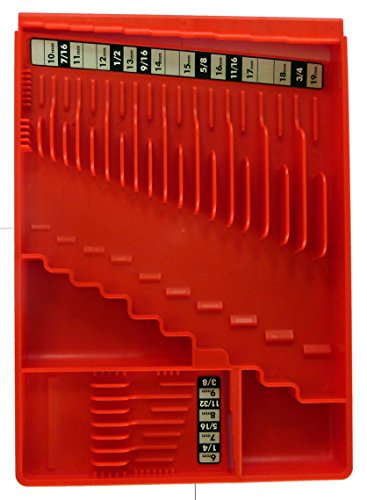 Tool Sorter Wrench Organizer - Red ()