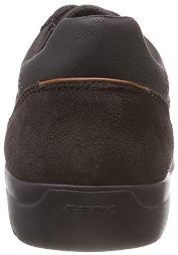Herren Sneaker Leitan Coffee B U C6024 Dk Geox Braun ZH6Bpqdxpw