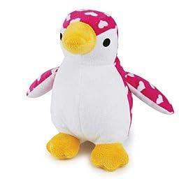 Zanies Sweetie Pie Penguin Pet Toy, Pink