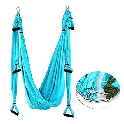 YAETEK Aerial Yoga Swing - Ultra Strong Antigravity Yoga Hammock/Sling/Inversion Tool for Air Yoga Inversion Exercises