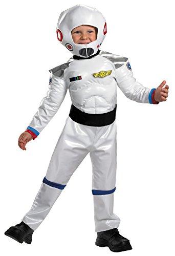 Space Western Costume (UHC Blast Off Astronaut Space Man Toddler Kids Fancy Dress Halloween Costume, 3T-4T)