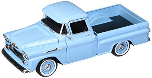 Motor Max 1:24 W/B American Classics 1958 Chevrolet Apache Fleetside Pickup Diecast Vehicle