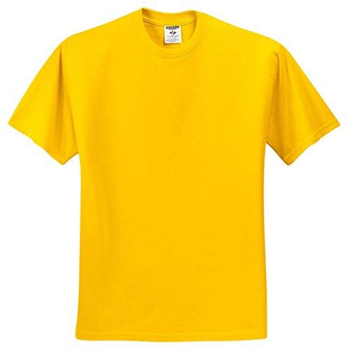 UPC 042463462124, Jerzees Dri-Power Mens Active T-Shirt Medium Island Yellow