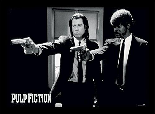 Pulp Fiction Guns Stampa con Cornice,, 30x 40cm Pyramid International FP10328P-PL