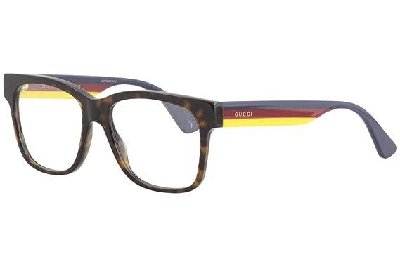 Gucci - Monture de lunettes - Femme Marron marron  Amazon.fr ... 516ad3f97d53