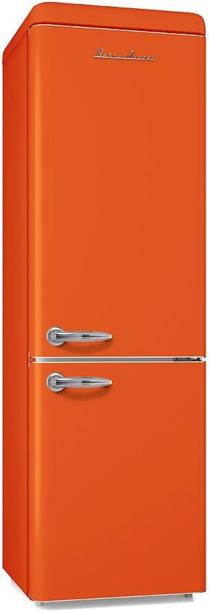Schaub Lorenz sl250o Retro Nevera y congelador Combinaci/ón Naranja eficiencia energ/ética A 251/L 4/* Congelador 181,5/cm de alto 55/cm de ancho *