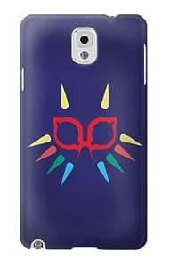 S1358 Majora Mask Minimalist Zelda Case Cover For Samsung Galaxy Note 3