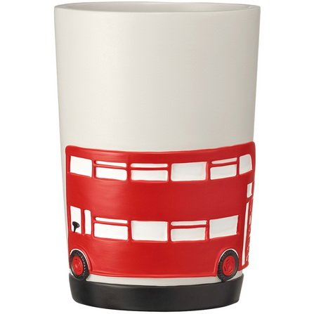 I love london red bus london bathroom accessories set soap for Bathroom accessories uae